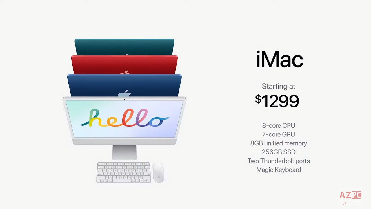 Giá Apple iMac 2021