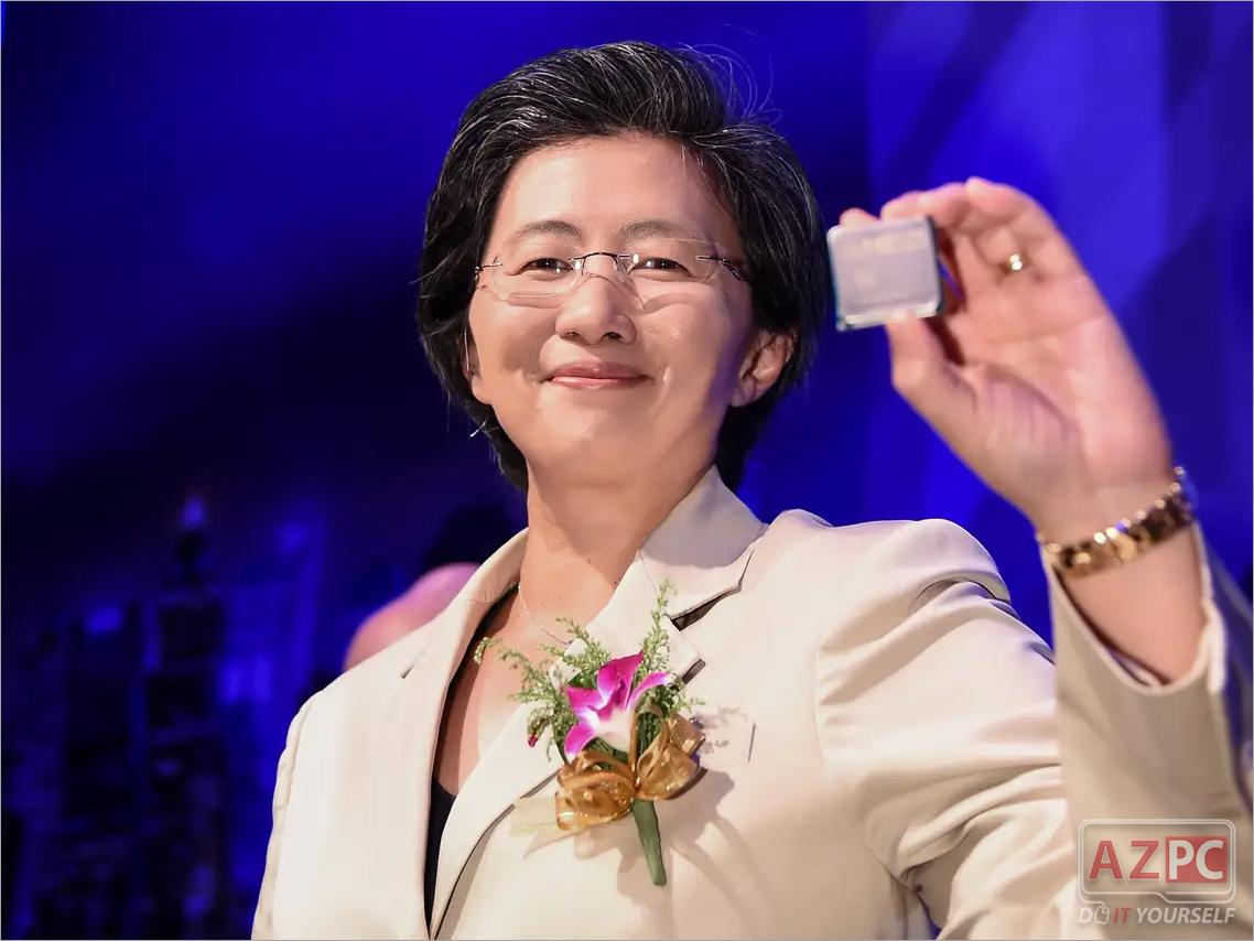 Lisa Su AMD Chip